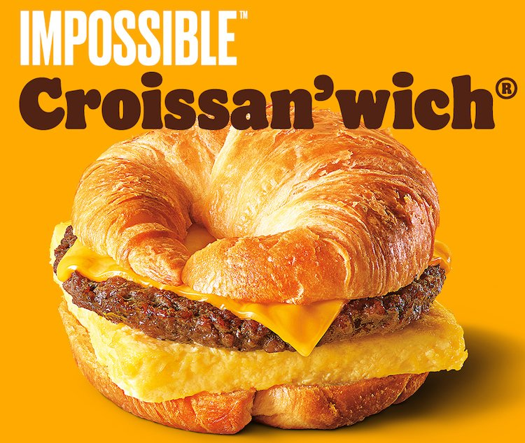 Burger King Impossible Croissanwich