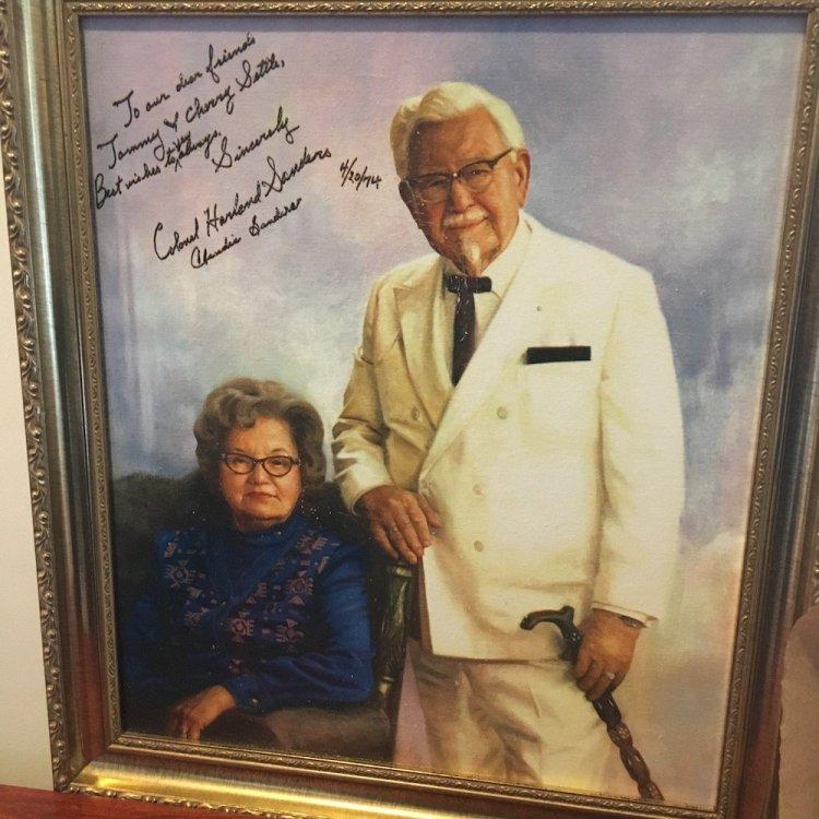 Claudia & Harland Sanders