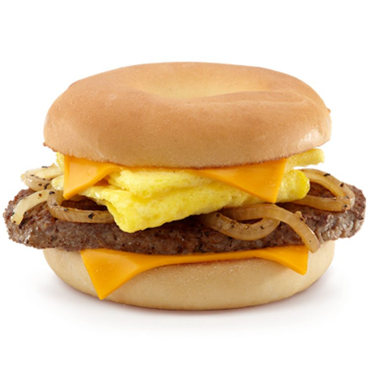 McDonald's Steak, Egg & Cheese Bagel