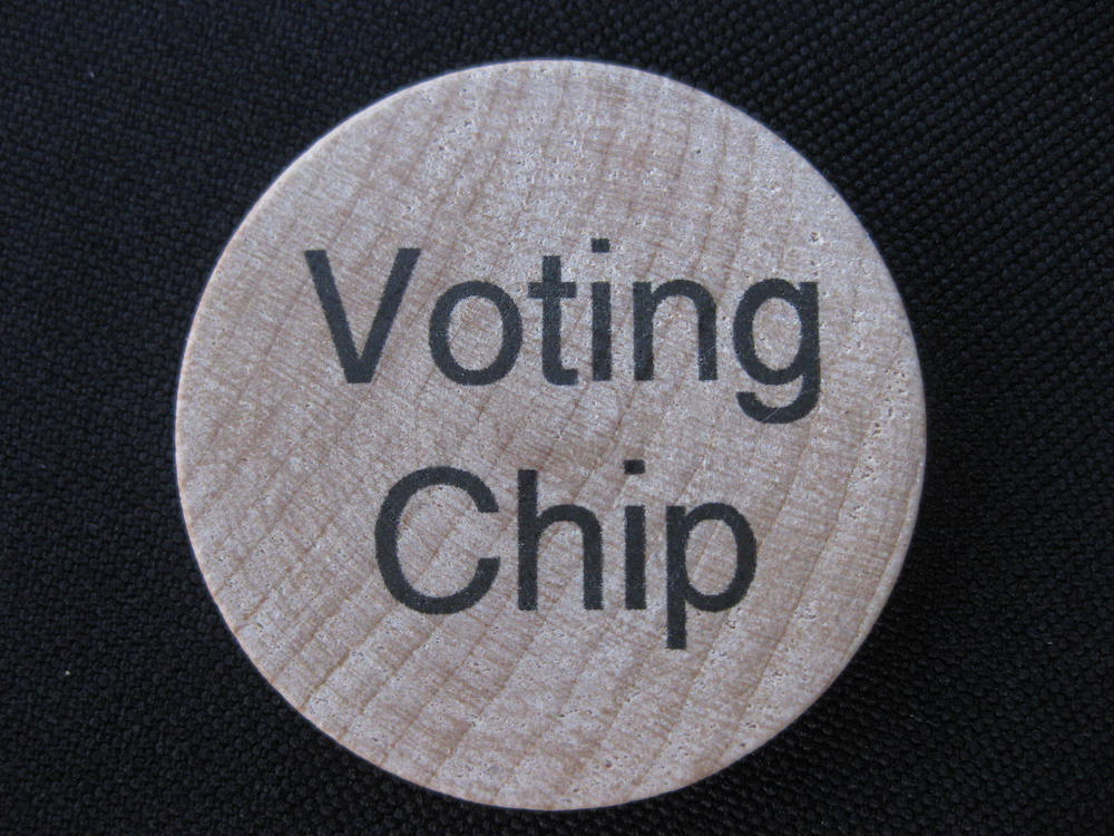 Voting Chip Front