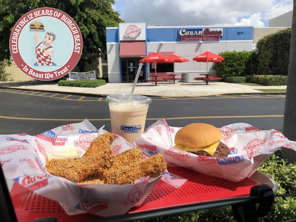 12 Years of Burger Beast Car Hop Tray