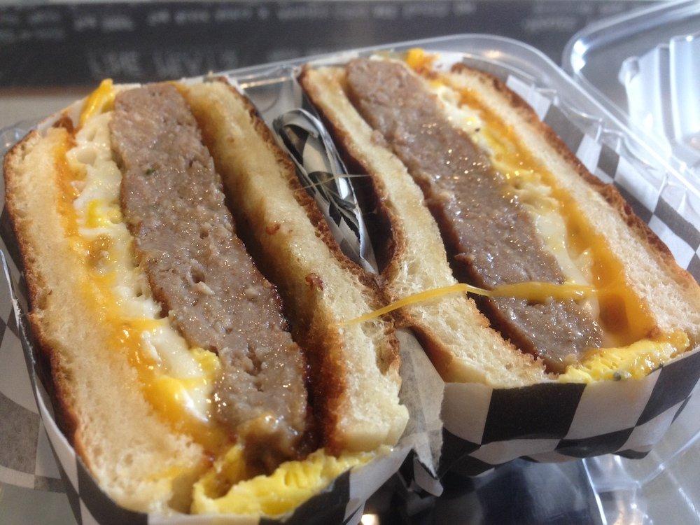 Proper Sausages Breakfast Sandwich