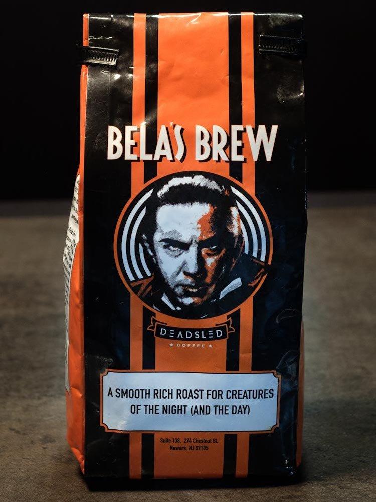 Bela Lugosi Dead Sled Coffee