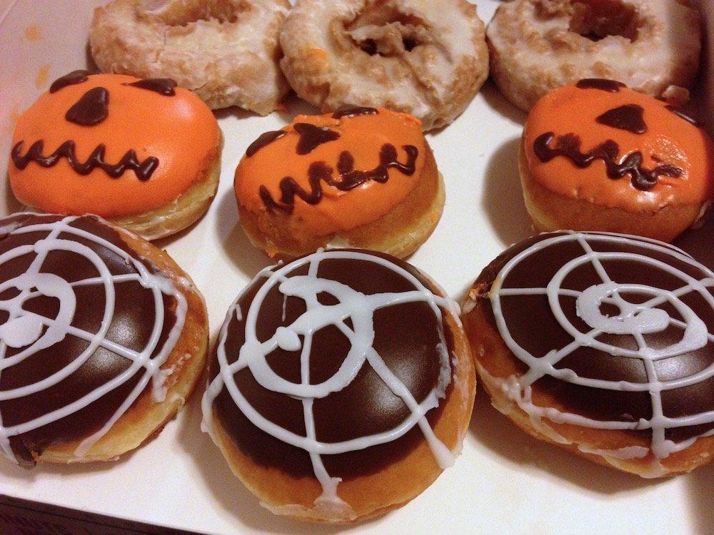 Halloween Krispy Kreme Donuts for 2014