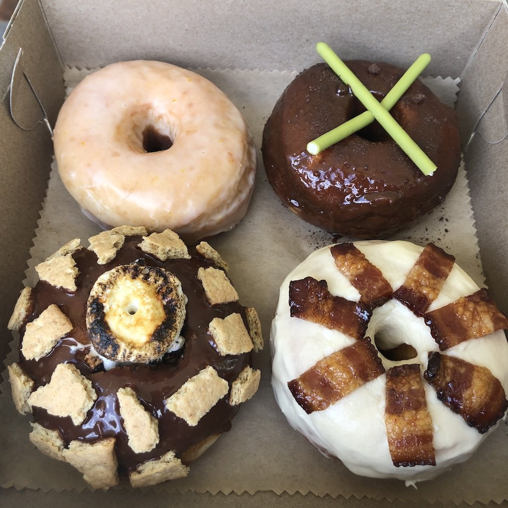Box of Lucha Dough Donuts