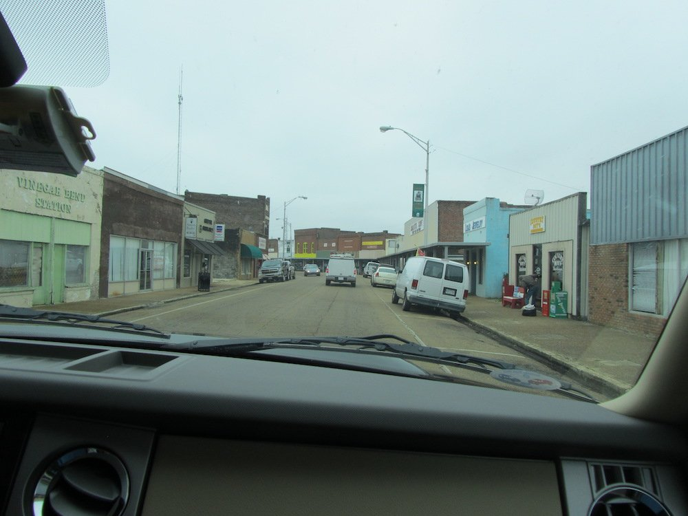 Downtown Amory, Mississippi