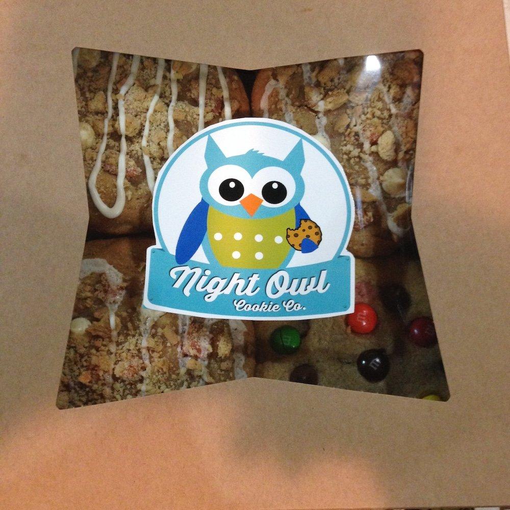 Night Owl Cookies Box