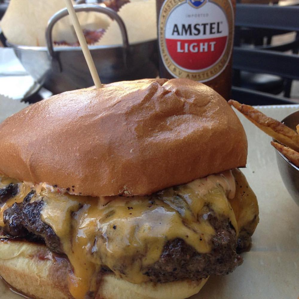 Bull Market Jucy Lucy Burger