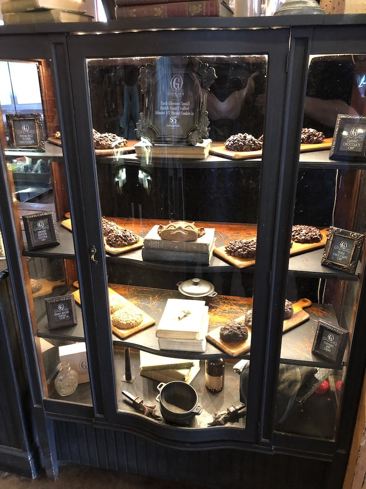Gideon's Bakehouse Display Case at East End Market