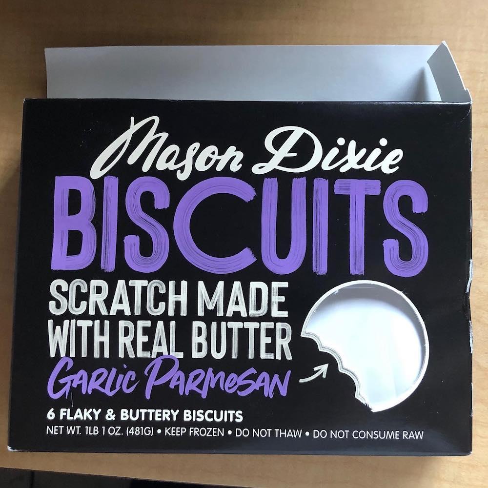 Mason Dixie Biscuits Garlic Parmesan