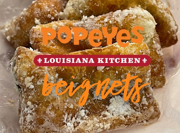 Popeyes quietly enters the Chocolate Beignet game