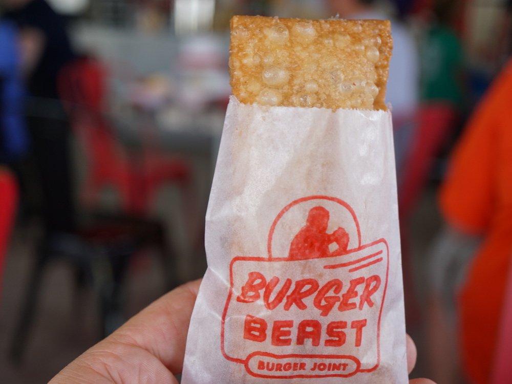Burger Beast Burger Joint Hot Apple Turnover
