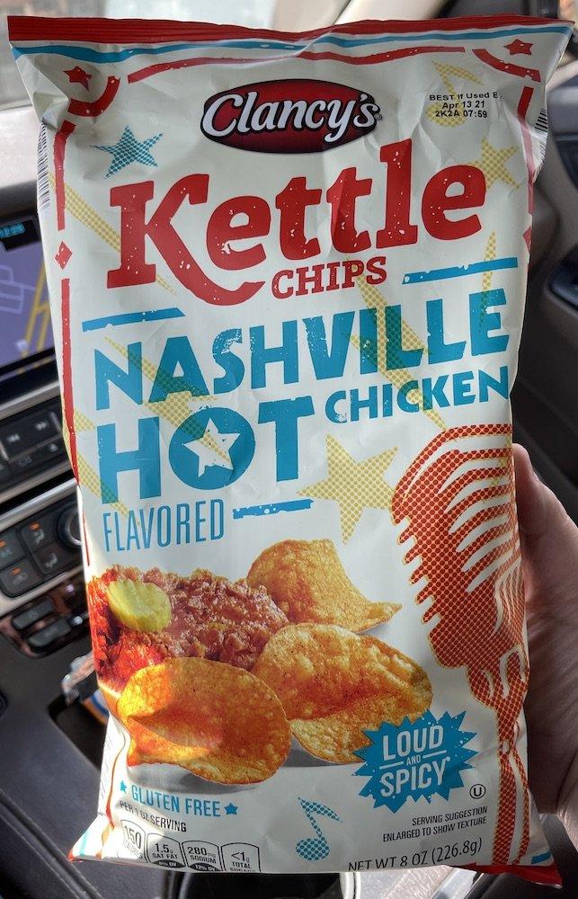 Nashville Hot Potato Chips