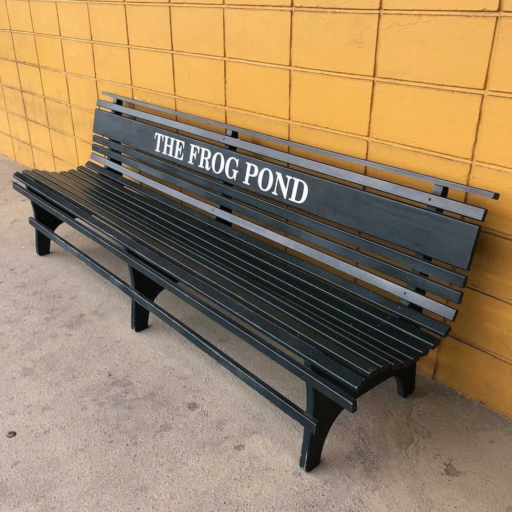 The Frog Pond Bench