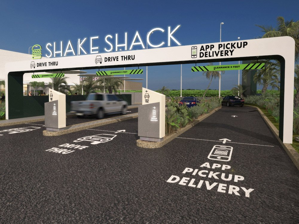 Shake Shack Drive-thru in Orlando, Florida