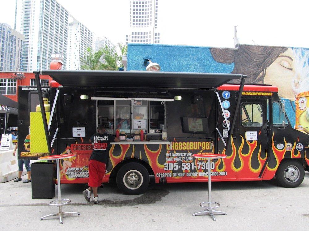 Cheeseburger Baby Food Truck at Hot Dog Fest 2013