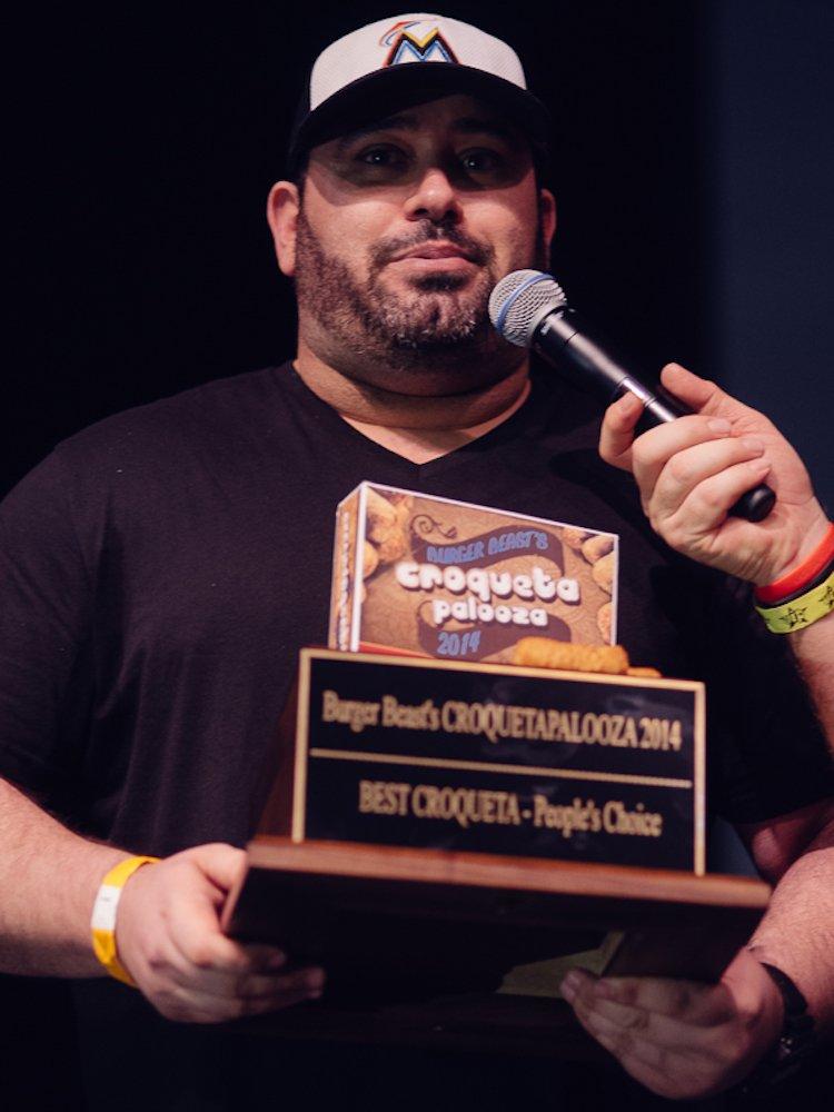Croqueta Palooza Winner 2014 Barley