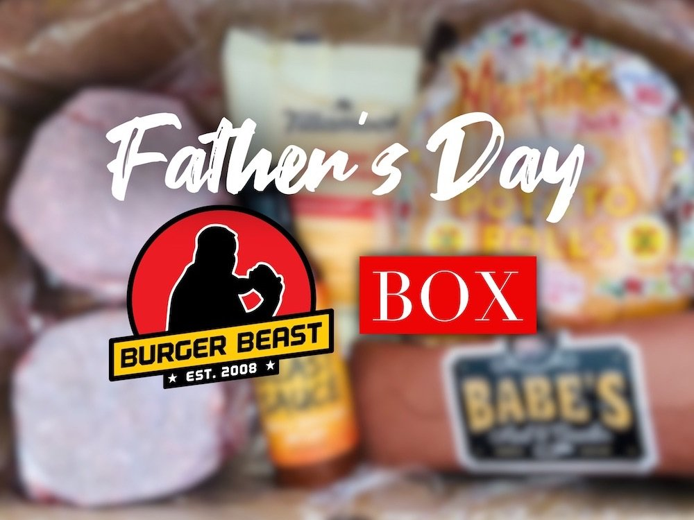 Burger BEAST Box for Father's Day 2021