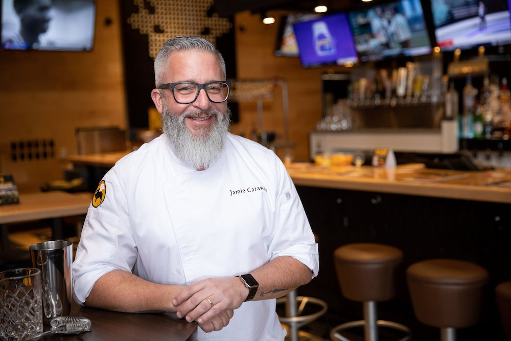 Buffalo Wild Wings' VP of Culinary Jamie Carawan