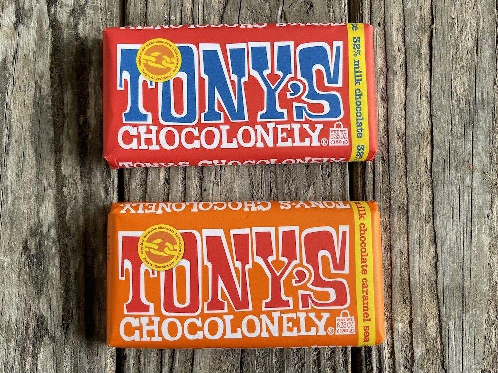 Tony's Chocolonely Candy Bars
