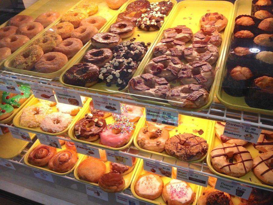 Bennett's Fresh Roast Donut Display Case