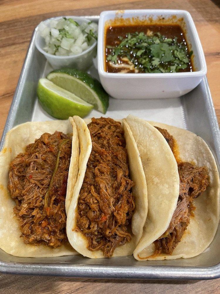 Birria Tacos from Jacalito Taqueria Mexicana
