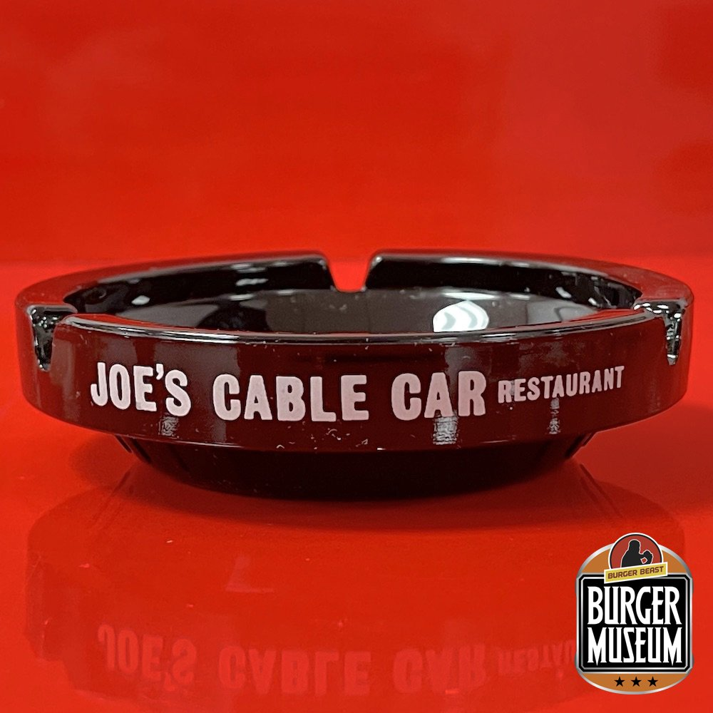 Joe's Cable Car Ashtray