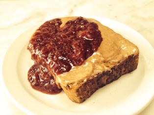 Whole Grain with Almond Butter and Jam