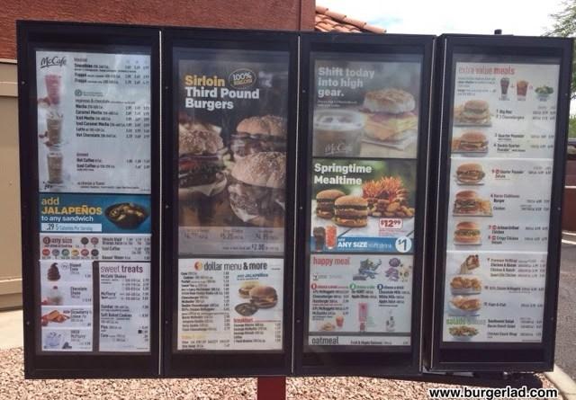 McDonald's USA Menu Prices