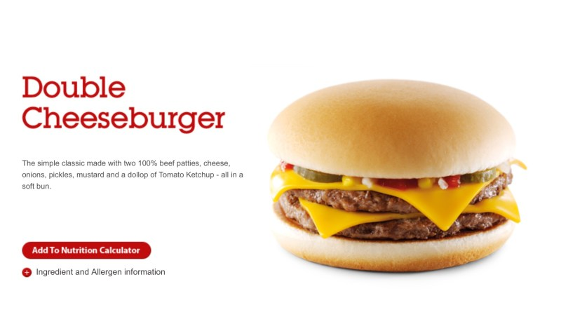 McDonald's Double Cheeseburger Review