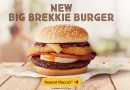 McDonald's Big Brekkie Burger