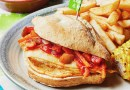 Nando's Chakalaka Burger
