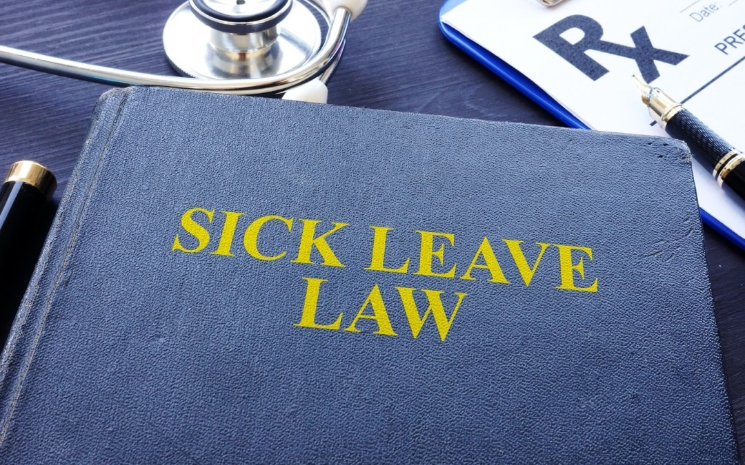 New Year, New Laws. New York's Paid Sick Leave is in Full Effect.