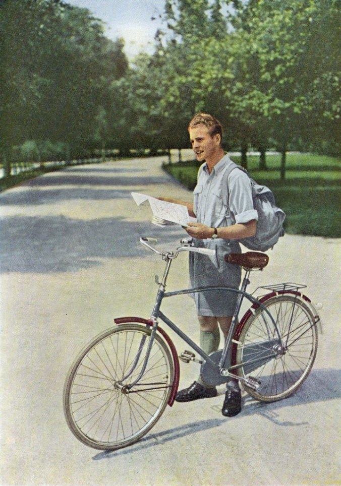 Burgers Supersportfiets  1953