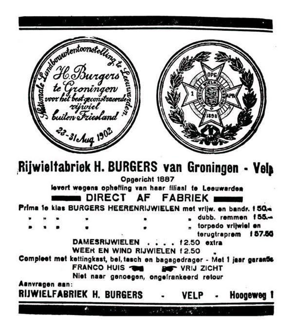 Advertentie Burgers. leeuw cour. 08-03-1930