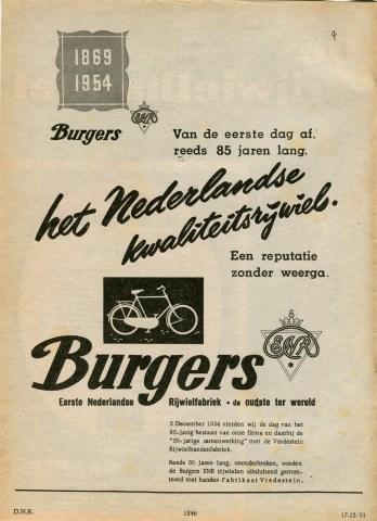 De Ned. Rijwielhandel 1954-12-17