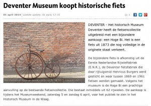 persbericht aankoop museum