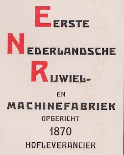 Detail advertentie 1916