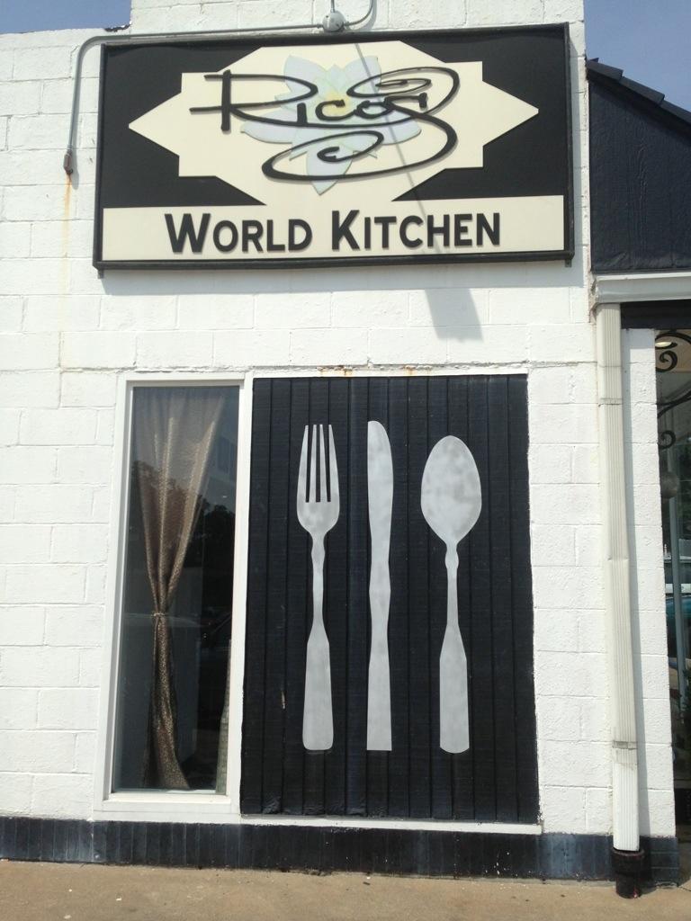 Ricos World Kitchen  Buford GA  Burgers Barbecue and