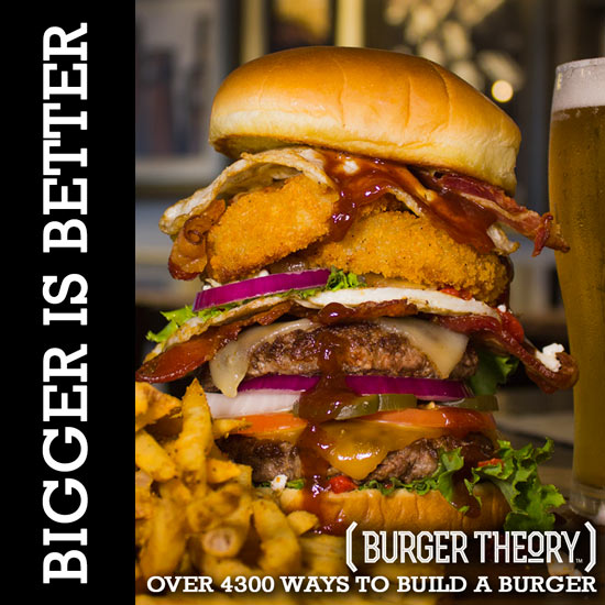 Bigger is Better at Burger Theory