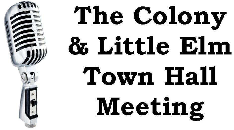 Dr. Burgess to Host The Colony and Little Elm Town Hall