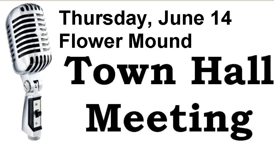 Flower Mound Town Hall Meeting June 14