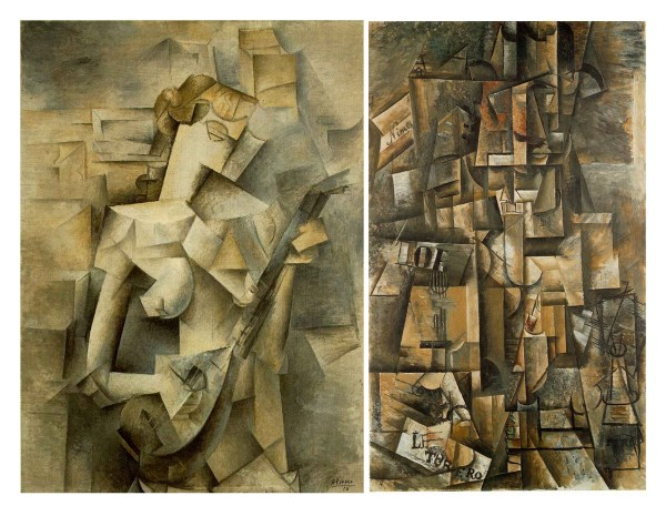 Pablo Picasso Cubism Paintings