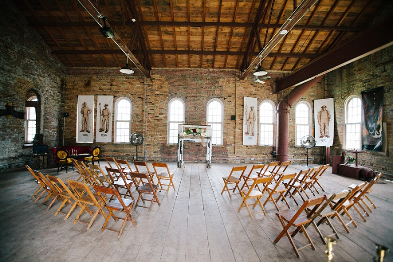 Pop Up Wedding At The Pump House Shannon & Russ Burgh