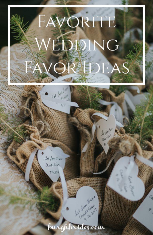 Favorite Wedding Favors