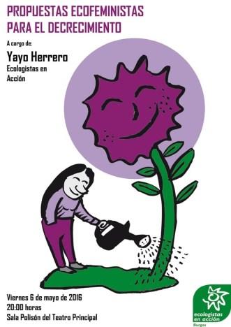 cartel charla yayo herrero web