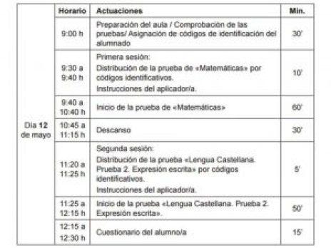 horarios 2