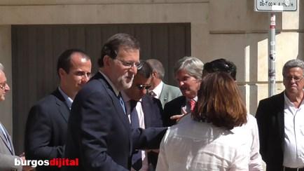 Rajoy en Burgos
