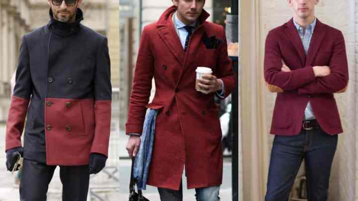 Incredible Men's Casual Outfit Ideas In Burgundy Maroon Color To WOW