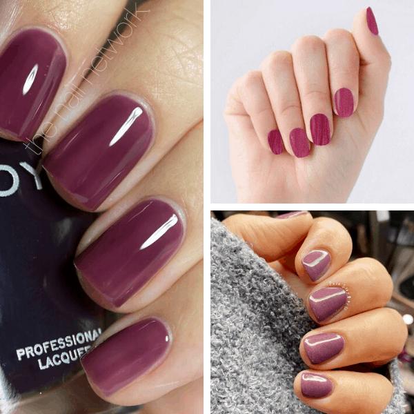 Burgundy classy nail designs classy nails shellac classy nail colors chic classy nail designs ombre nails